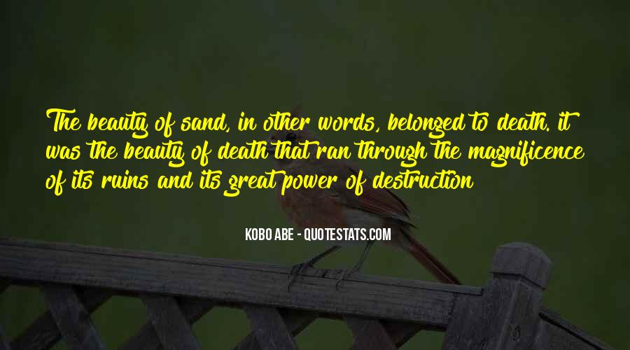 Quotes About Words And Power #351772