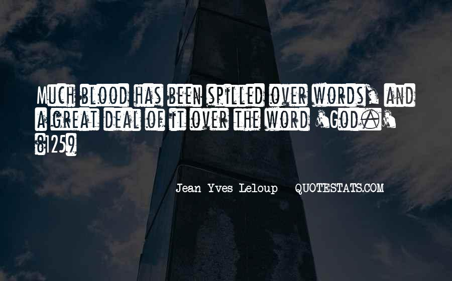 Quotes About Words And Power #361117