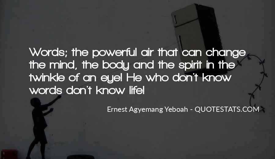 Quotes About Words And Power #370735