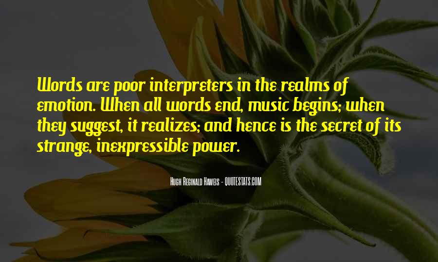 Quotes About Words And Power #381226