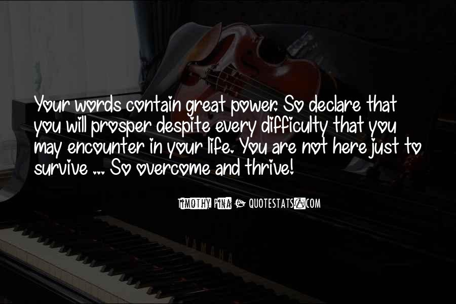Quotes About Words And Power #51977