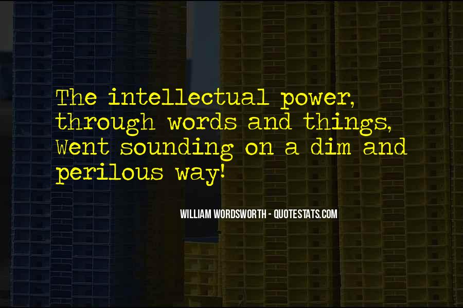 Quotes About Words And Power #73118