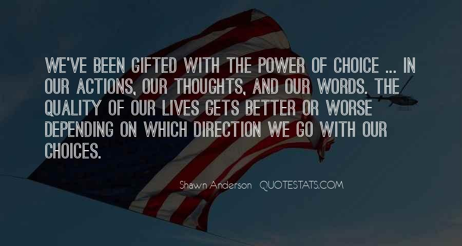 Quotes About Words And Power #84899