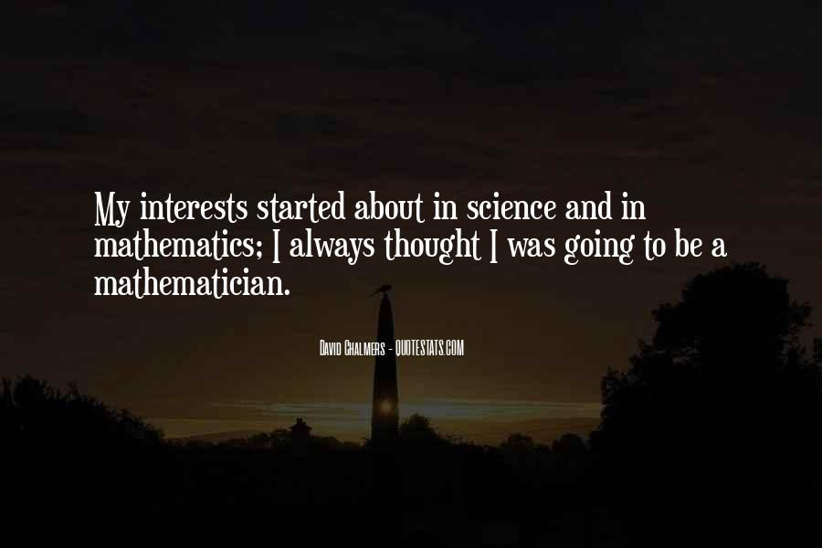 Quotes About Mathematics And Science #1056345