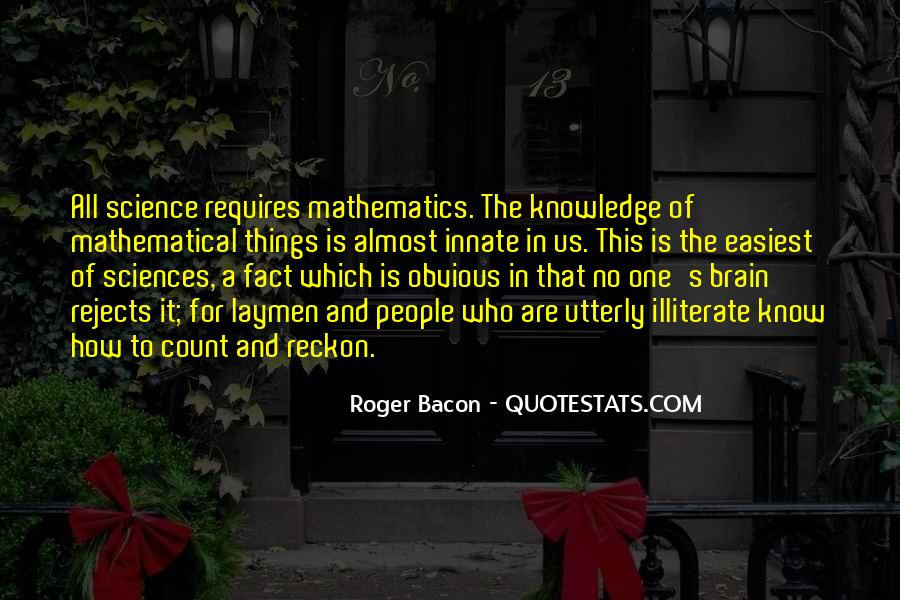 Quotes About Mathematics And Science #1120254