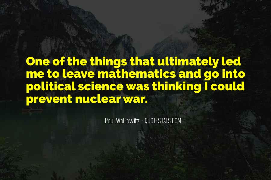Quotes About Mathematics And Science #17972