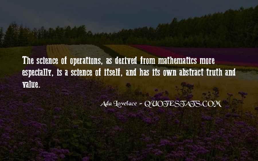 Quotes About Mathematics And Science #200325