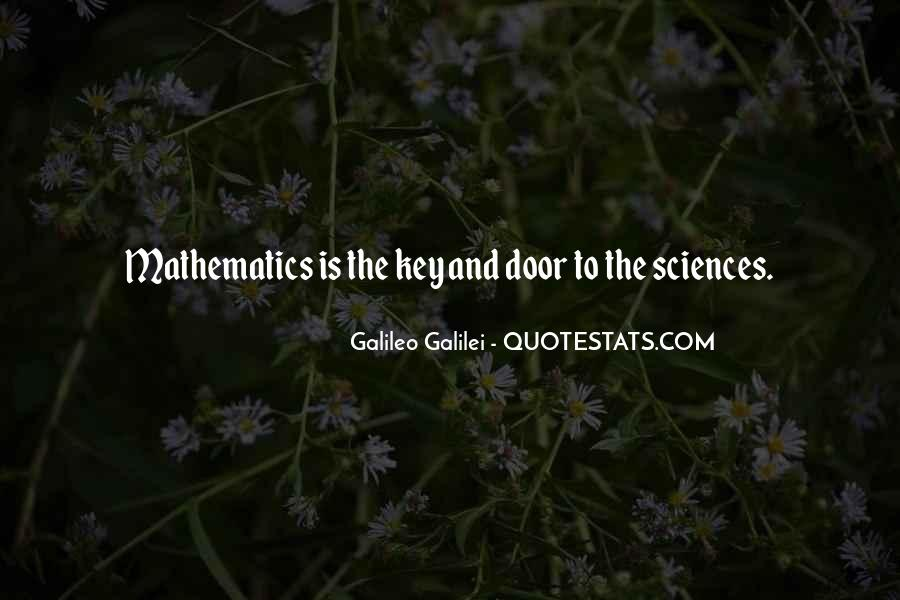 Quotes About Mathematics And Science #273831