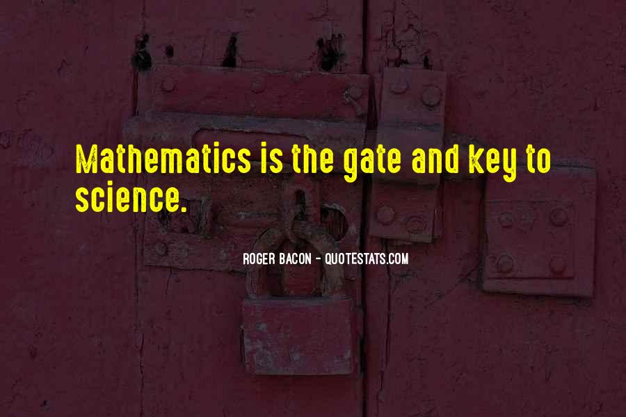 Quotes About Mathematics And Science #442126