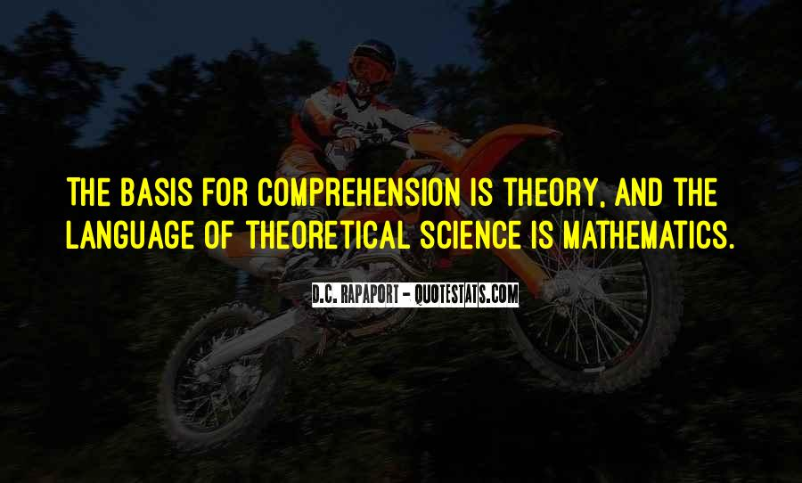 Quotes About Mathematics And Science #60304