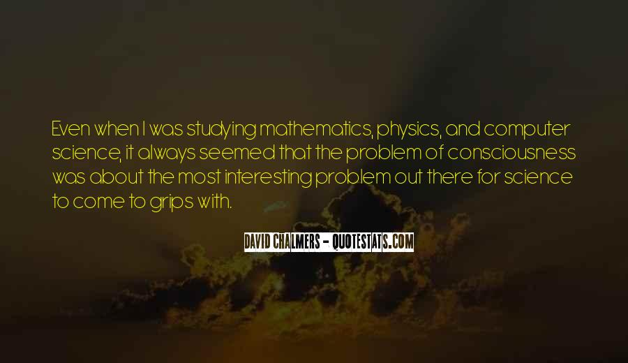 Quotes About Mathematics And Science #61214