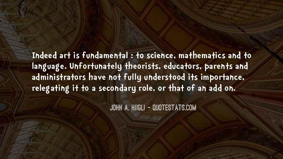 Quotes About Mathematics And Science #624399
