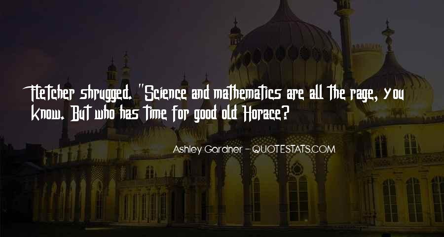 Quotes About Mathematics And Science #665919