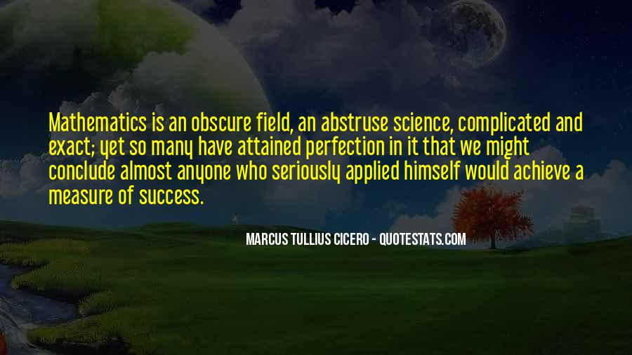 Quotes About Mathematics And Science #916914