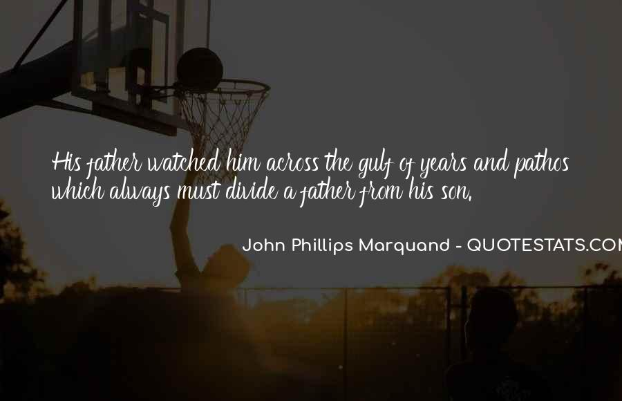 Quotes About A Father And Son #115595