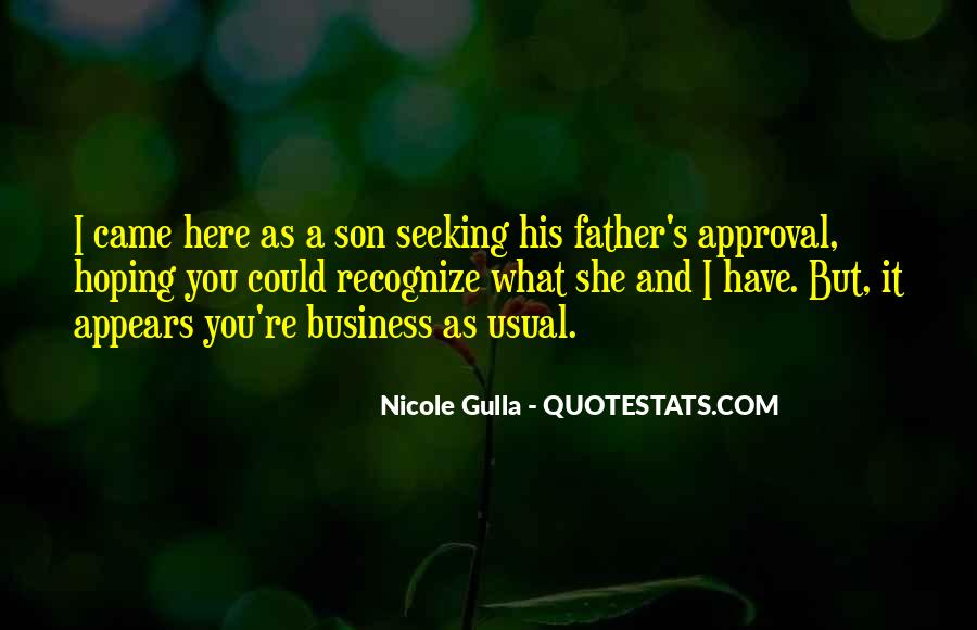 Quotes About A Father And Son #217528