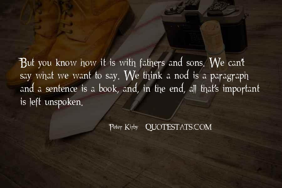 Quotes About A Father And Son #431073