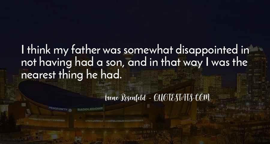 Quotes About A Father And Son #448481
