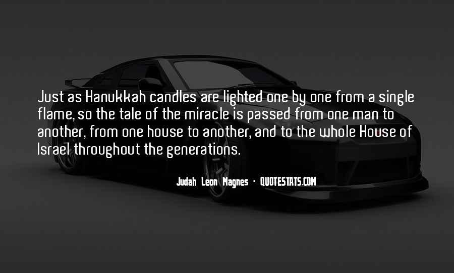 Quotes About Hanukkah #1380851