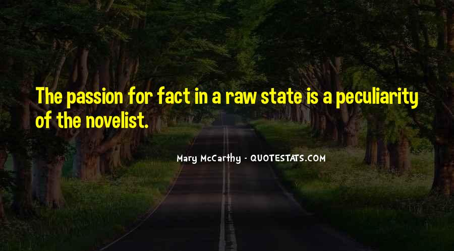 Quotes About Raw Passion #1689709