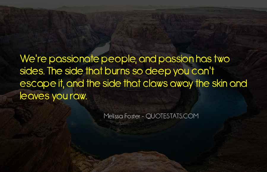 Quotes About Raw Passion #614865