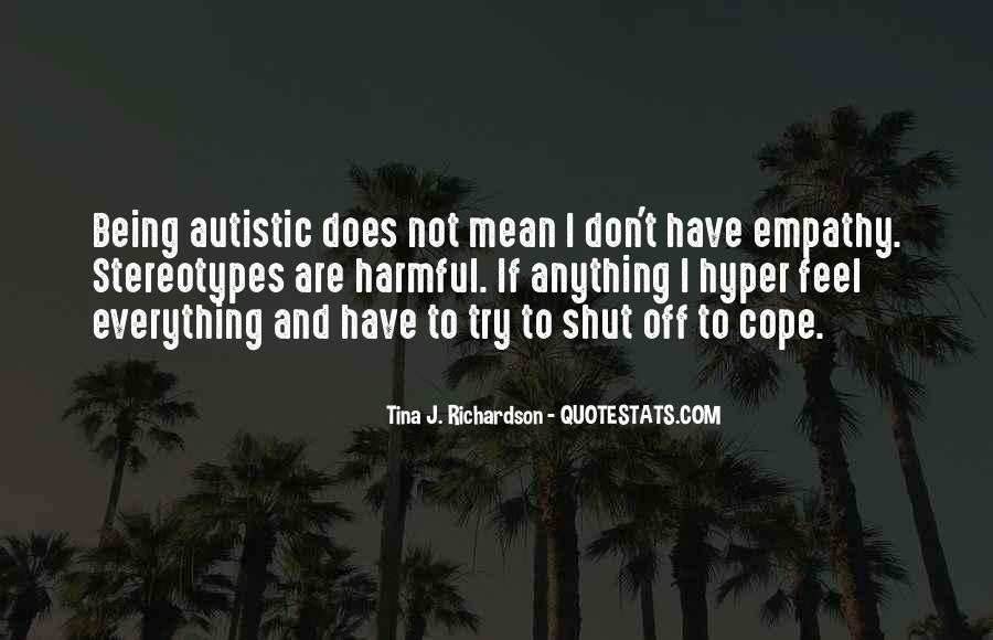 Quotes About Aspergers #80122