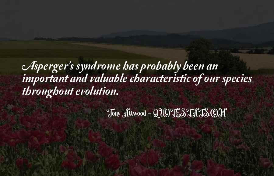 Quotes About Aspergers #915890