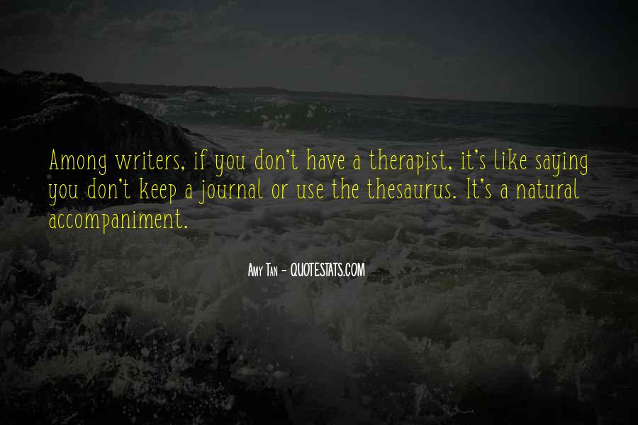 Quotes About Writers And Depression #1538820