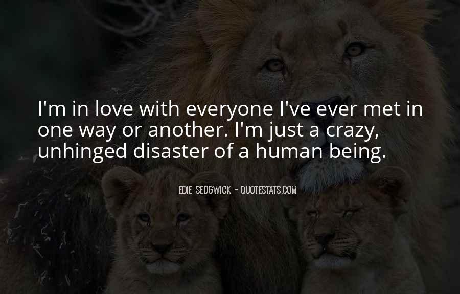 Quotes About Being In Love #35432