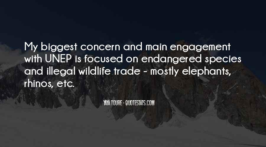 Quotes About Endangered Elephants #322047