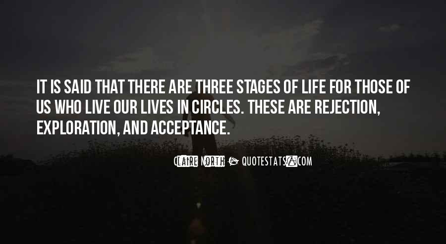 Quotes About Stages Of Life #1074303