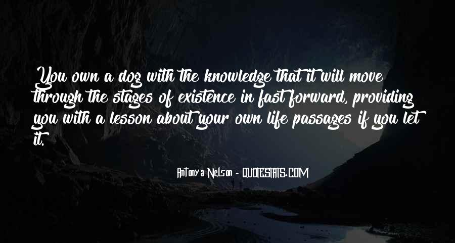 Quotes About Stages Of Life #1149707
