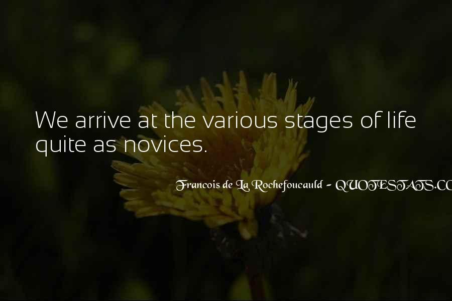 Quotes About Stages Of Life #1155479