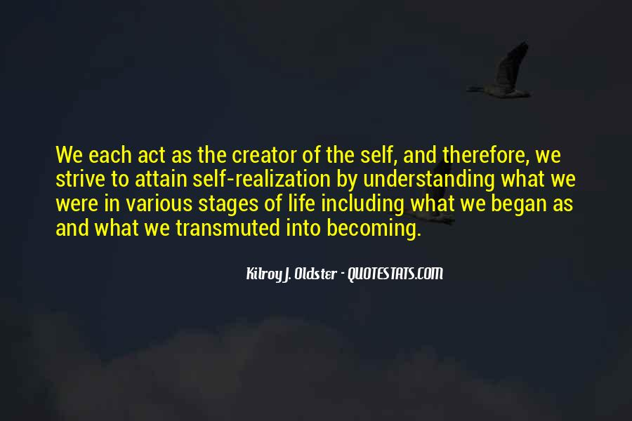 Quotes About Stages Of Life #1219268