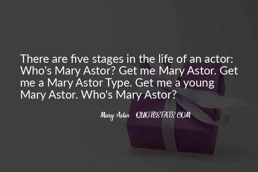 Quotes About Stages Of Life #1313223