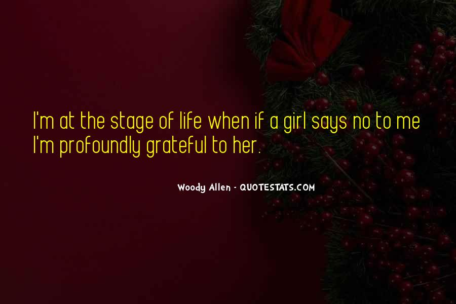 Quotes About Stages Of Life #144510