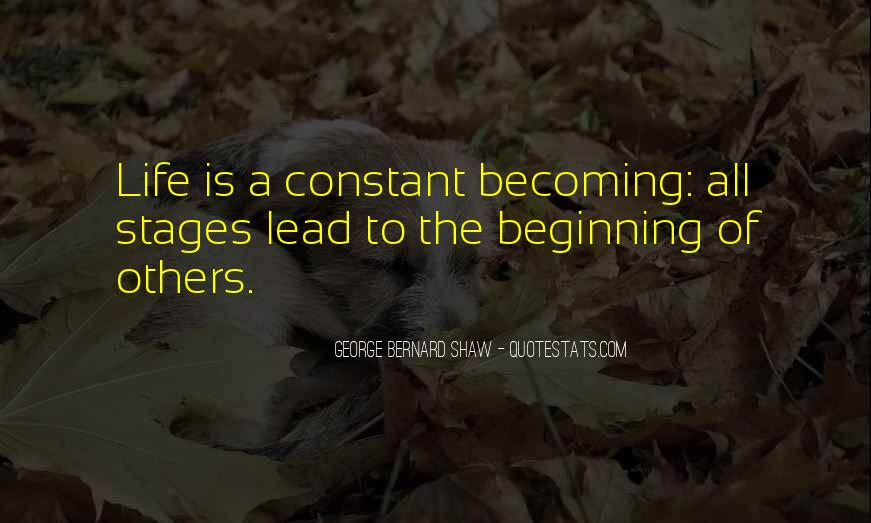 Quotes About Stages Of Life #1694332