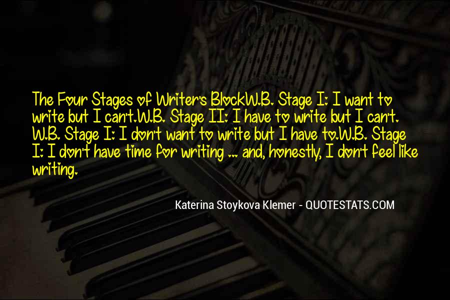 Quotes About Stages Of Life #1751490