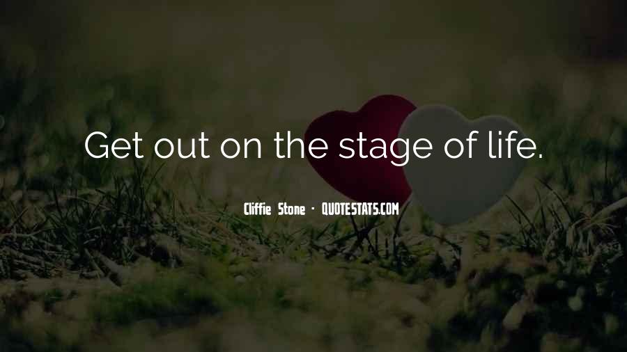 Quotes About Stages Of Life #279751