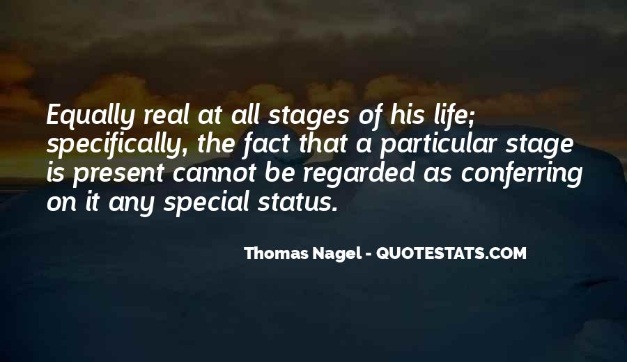 Quotes About Stages Of Life #599649