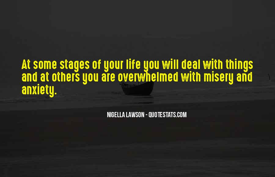 Quotes About Stages Of Life #683298