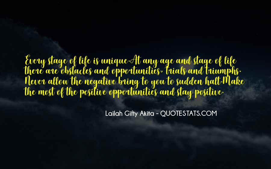Quotes About Stages Of Life #965230
