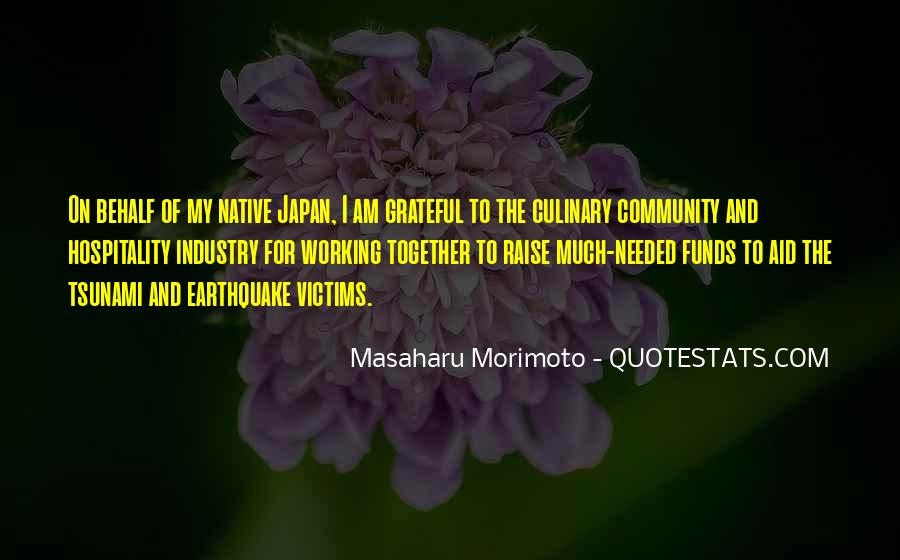 Quotes About Tsunami Victims #1124542