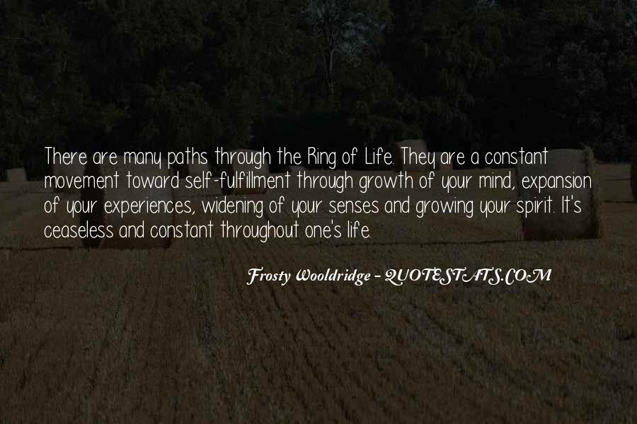 Quotes About Growing Through Life #596461
