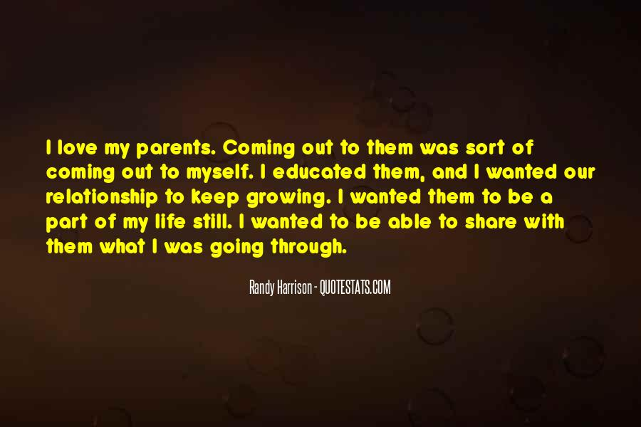Quotes About Growing Through Life #790810