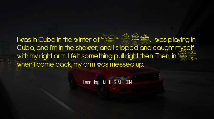 Quotes About Arm Day #1119506