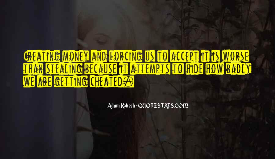 Quotes About Getting Cheated #1238295