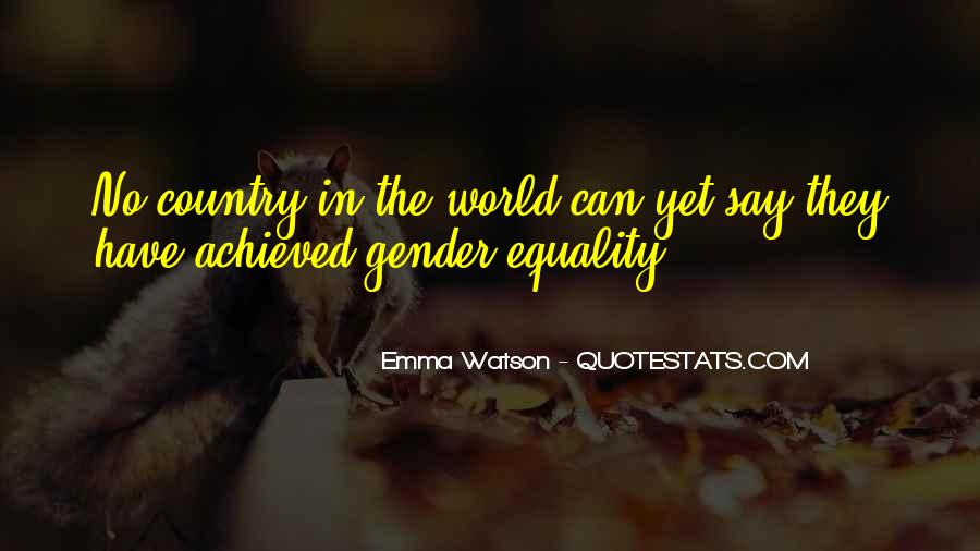 Quotes About Feminism Emma Watson #423578