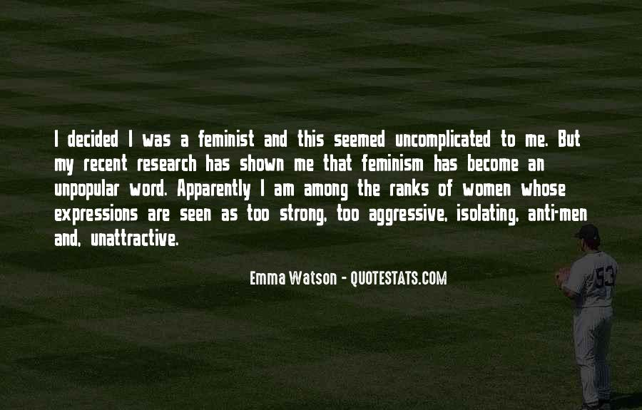 Quotes About Feminism Emma Watson #601499