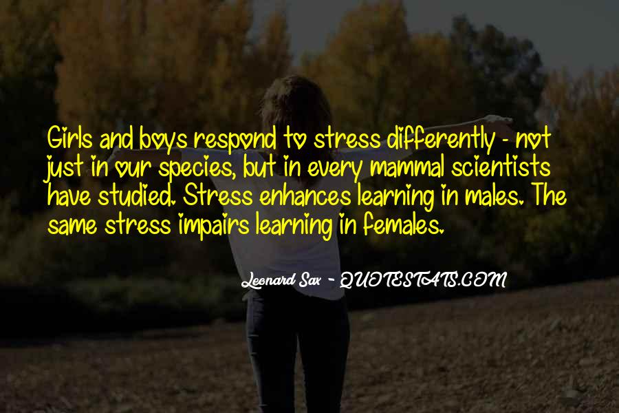 Quotes About Learning Differently #493497